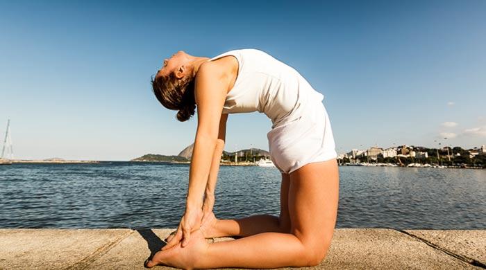 Ustrasana - Yoga for Kidney Stones