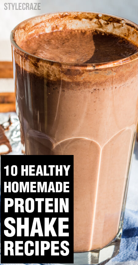 homemade weight loss protein shakes