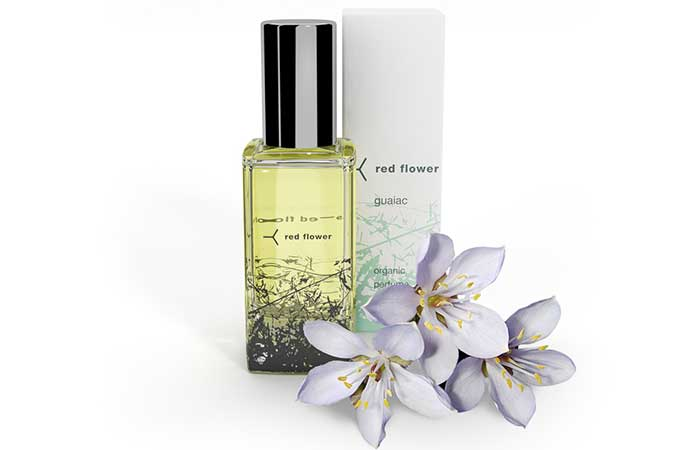 Natural Perfumes For Women - Red Flower Guaiac Organic Perfume