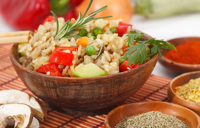 Brown Rice Recipes - Brown Rice Pilaf