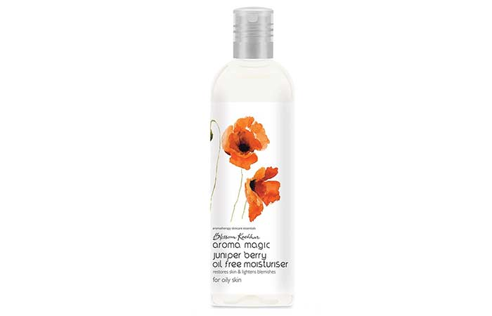 2. Aroma Magic Juniper Berry Oil Free Moisturiser