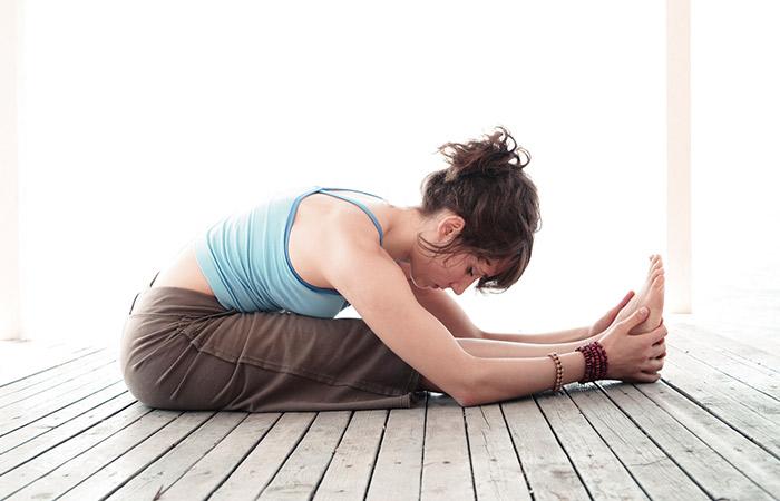 Paschimottanasana - Yoga For Vertigo