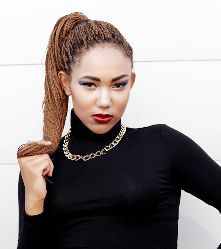 20 Beautiful Braided Updos For Black Women 6d46b67c68