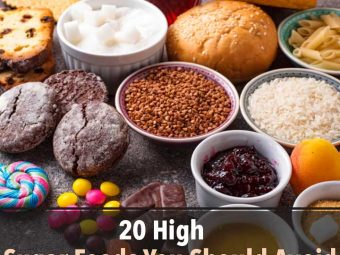 20 High-Sugar Foods You Should Avoid