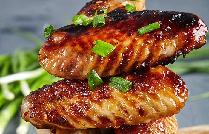 Low Calorie Dinner Recipes - Honey Mustard Chicken