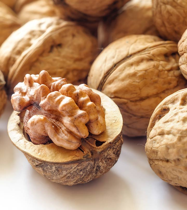 20 Amazing Benefits Of Walnuts (Akhrot) For Skin, Hair, And Health