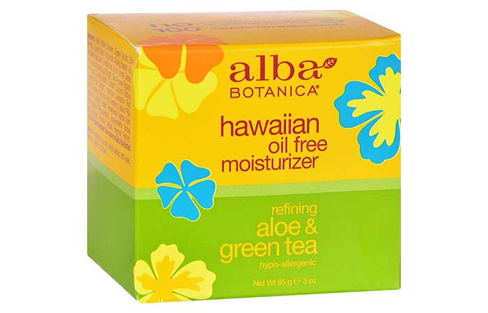 3. Alba Botanica Hawaiian Oil-Free Moisturizer