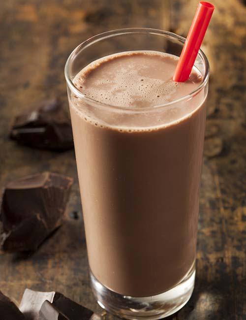 3. Chocolate Protein Shake (Protein – 23.6 g)