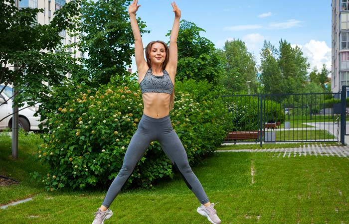 Jumping Jacks - Get Lean And Fit