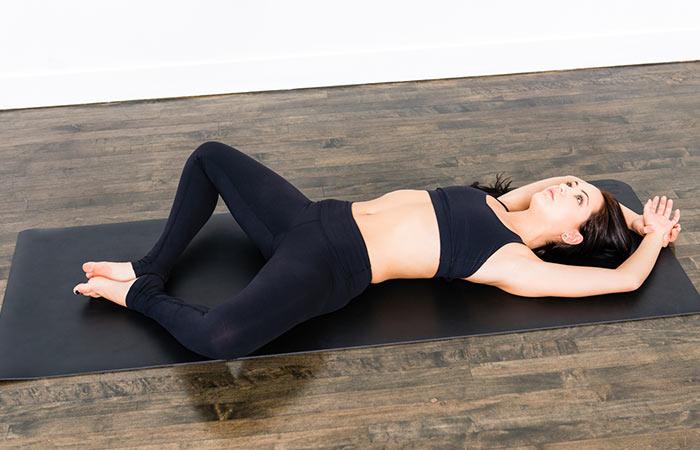 Supta Baddha Konasana - Yoga For Vertigo