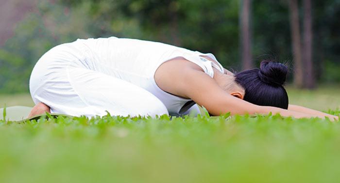 Balasana - Yoga Asana To Treat Acid Reflux