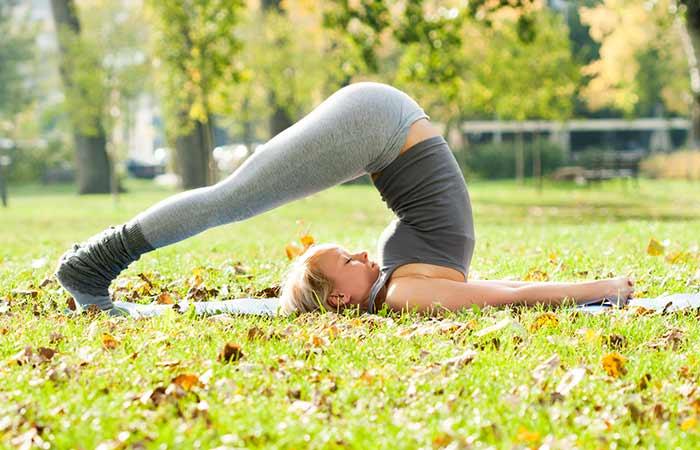 Halasana - Yoga For Vertigo