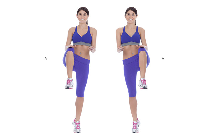 High Knees - Get Lean And Fit