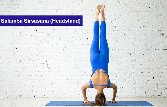 5. Salamba Sirsasana (Headstand)