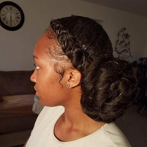 20 Beautiful Braided Updos For Black Women
