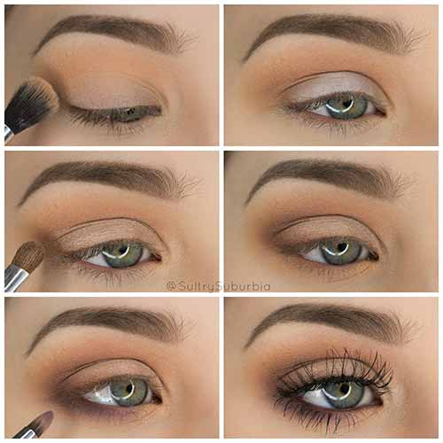Makeup For Green Eyes - The Simple Look