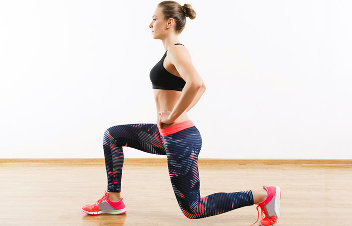 7.Jumping Lunges