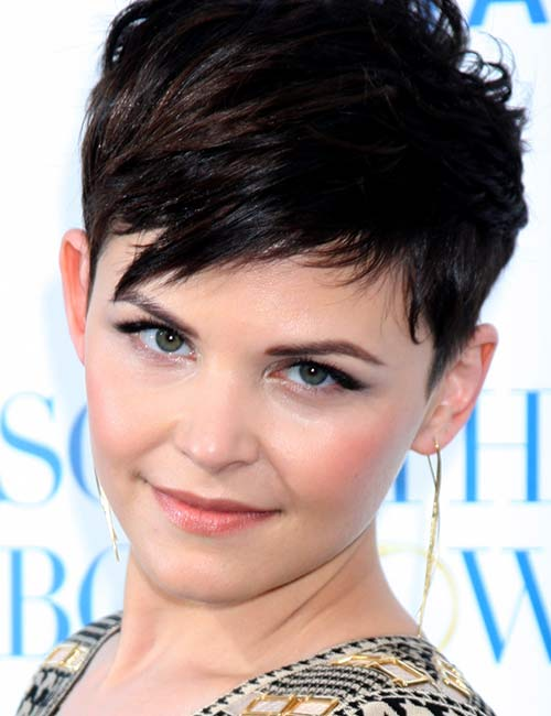 8. Short Tapered Bangs