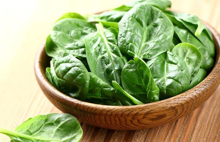 9. Spinach