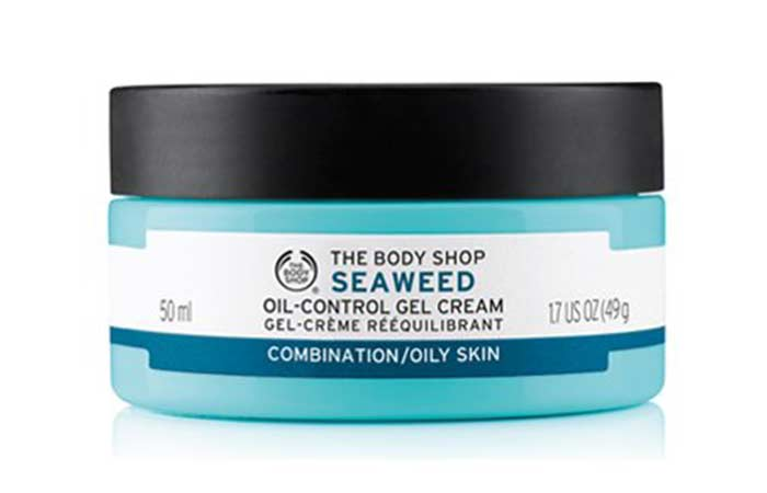 Best Oil-Free Moisturizers - The Body Shop Seaweed Gel Cream