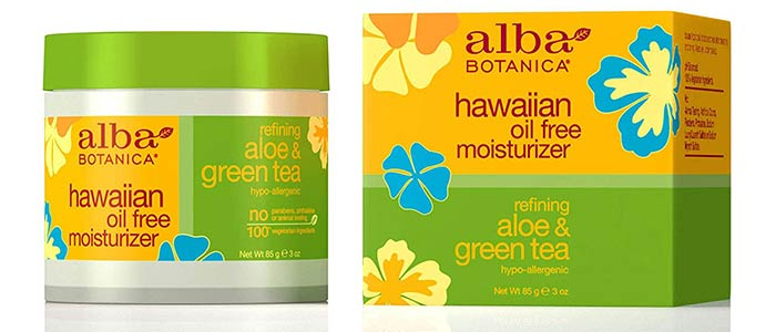 Alba Botanica Aloe And Green Tea Oil-Free Moisturizer