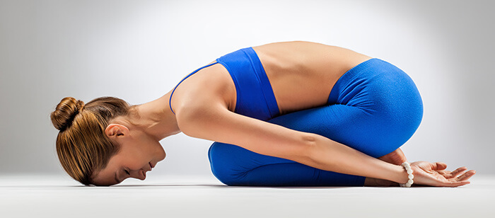 Balasana Or Child's Pose