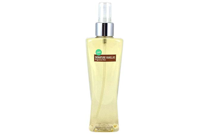 Bath & Body Works Signature Vanillas Lemon Fragrance Mist