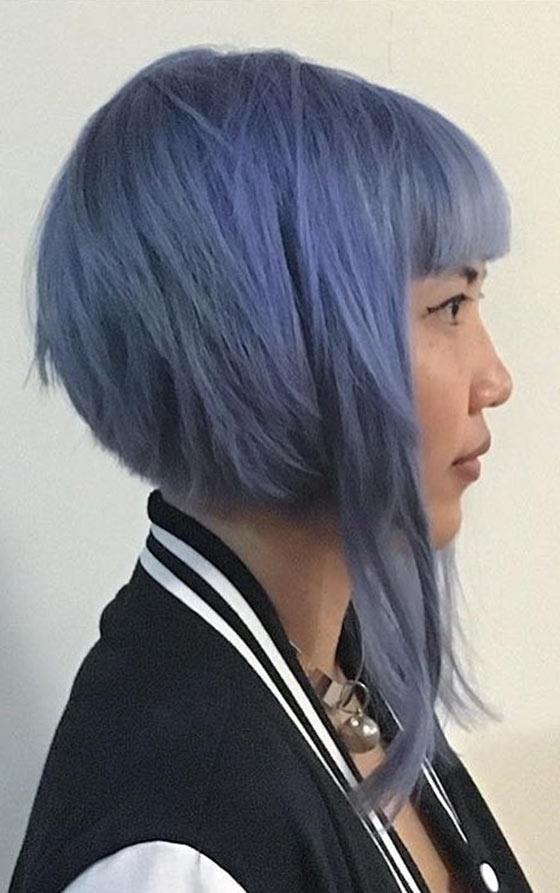 Prime 20 Most Flattering Asymmetrical Bob Hairstyles Hairstyle Inspiration Daily Dogsangcom