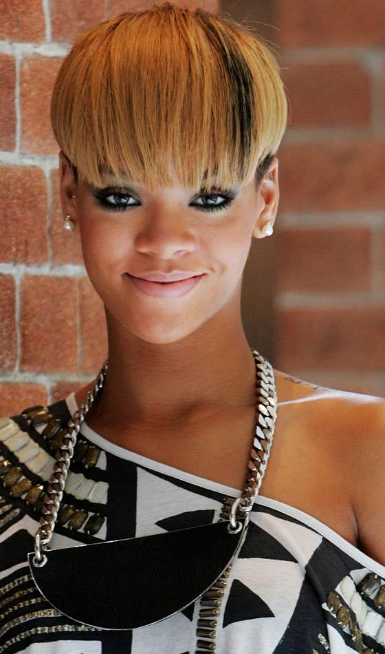 Tremendous 10 Trendy Rihanna39S Short Hairstyles Short Hairstyles Gunalazisus