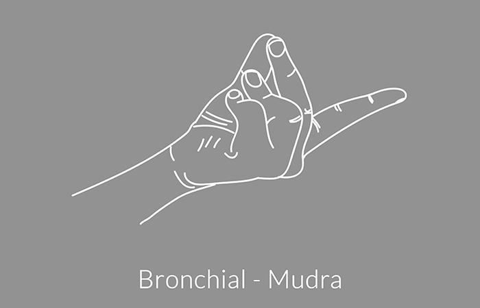 Bronchial-Mudra