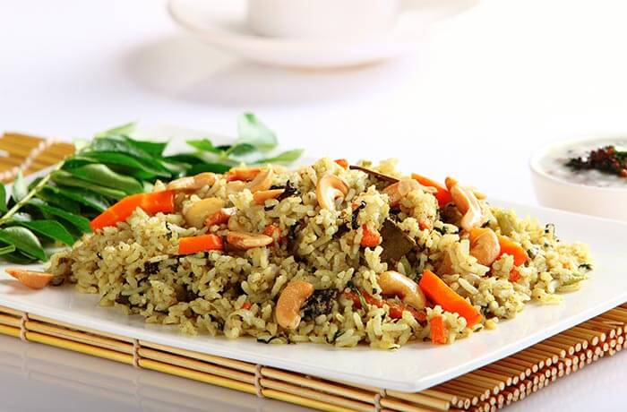 Healthy Brown Rice Recipes - Brown Rice Pulav