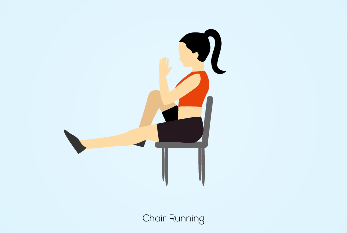 5 Best Chair Cardio Exercises To Burn Calories