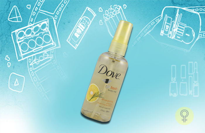 Dove – Go Fresh Body Mist, Energizing Grapefruit & Lemongrass