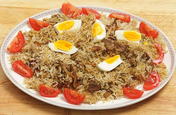 Brown Rice Recipes - Brown Rice Egg Biryani