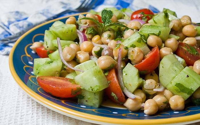 Greek-Garbanzo-Salad