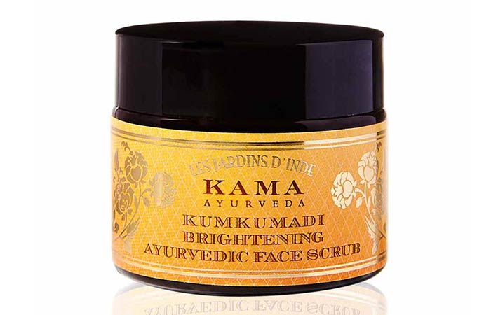 Best Paraben Free Cosmetics - Kama Ayurveda Kumkumadi Brightening Ayurvedic Face Scrub