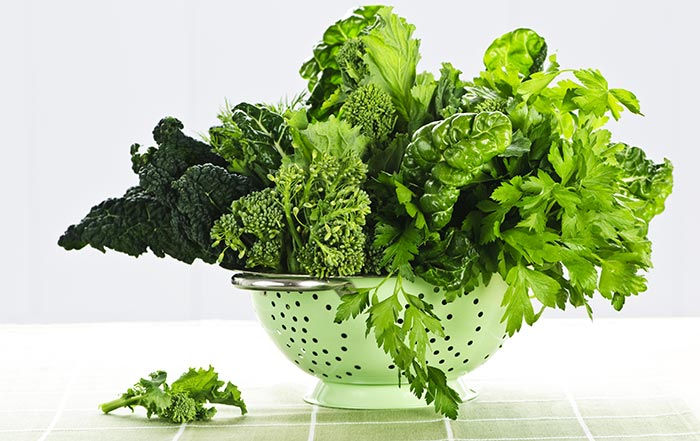 Leptin Rich Foods - Leafy Greens