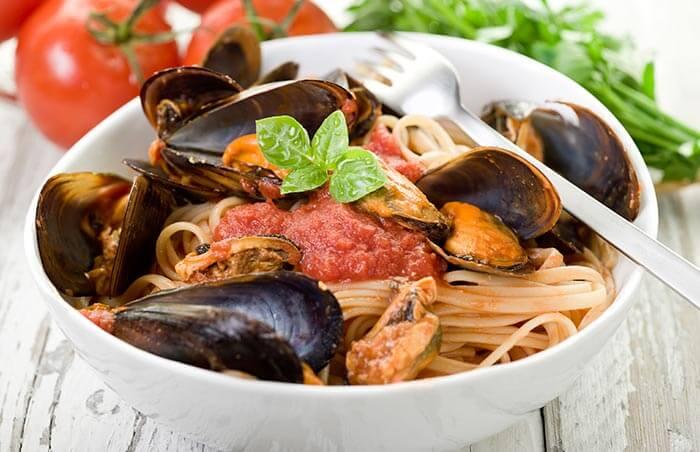 Mussel-Linguine