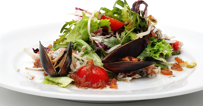 Mussels-And-Vegetable-Salad