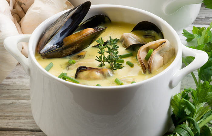 Mussels-Soup