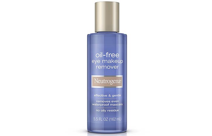 Best Paraben Free Cosmetics - Neutrogena Oil-Free Eye Makeup Remover