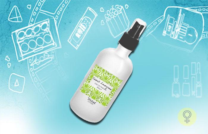 Orglamix– Coconut Lemongrass Perfume