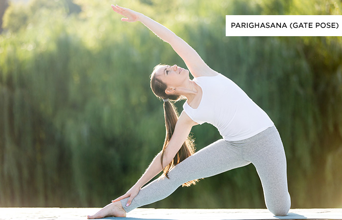 Parighasana (Gate-Pose) - Yoga Poses For Irritable Bowel Syndrome