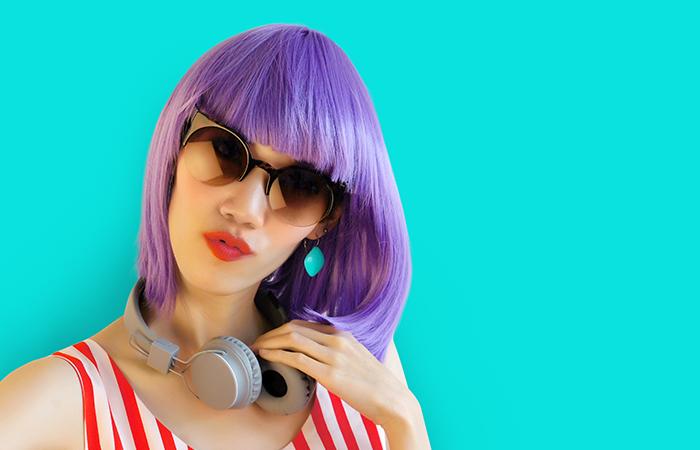 Purple-Dye