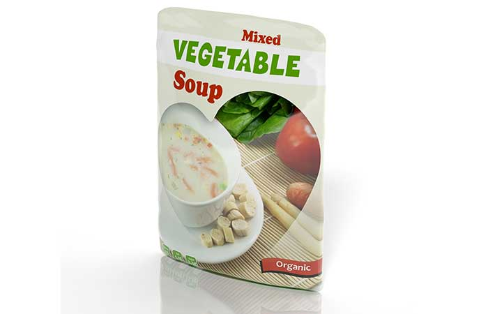 Food High In Sugar - Ready-To-Eat Soups