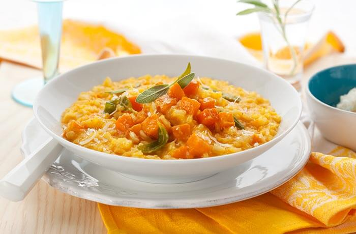 Brown Rice Recipes - Brown Rice Pumpkin Risotto