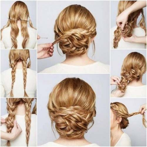 20 Incredibly Stunning Diy Updos For Curly Hair