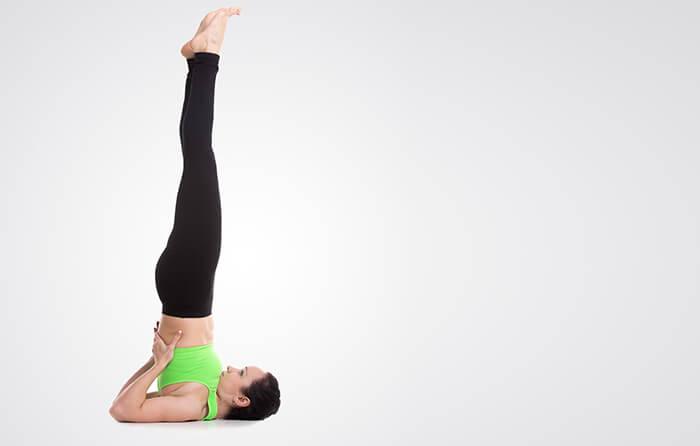 Shoulder-Stand-Posture