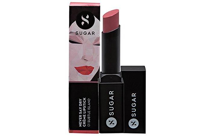 Best Paraben Free Cosmetics - Sugar Cosmetics Never Say Dry Creme Lipstick