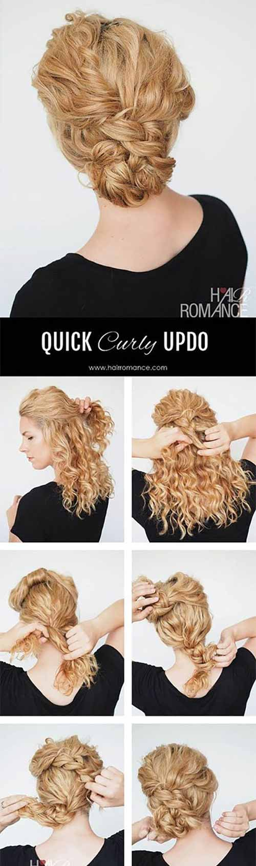 Fast Easy Updos For Long Hair Photo 1
